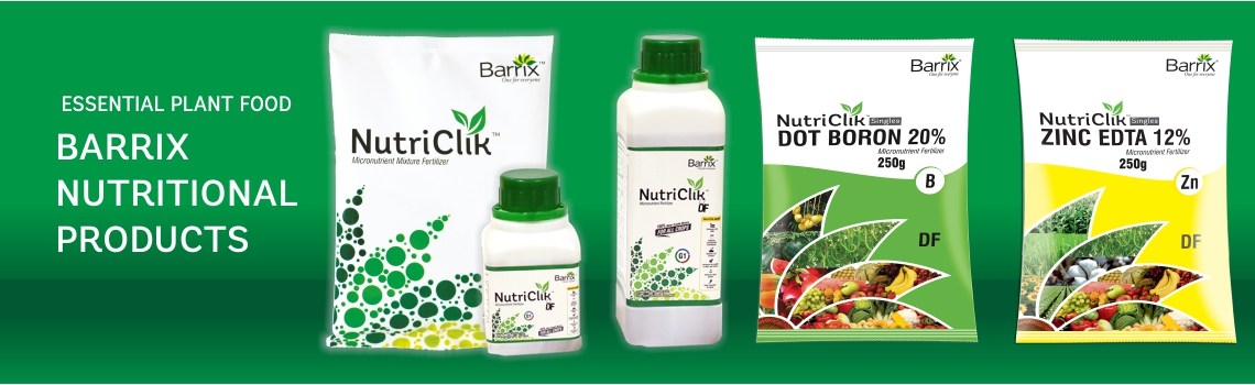 Barrix Nutriclik - chelated plants mictonutrients