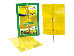 Buy online IPM products for organic farming - Barrix magic sticker - chromatic trap yellow sheet